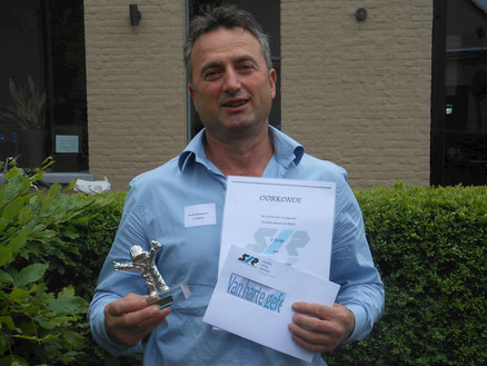 Mourik wint SIR Safety Award 2012