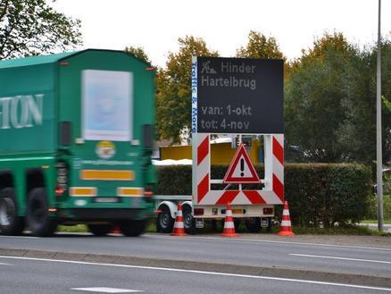 Hartelbrug testcase voor nieuw verkeersmanagement