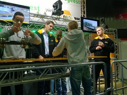 Competitie op Skillsmasters 2014