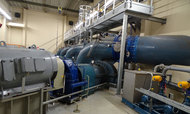 Born pumping station soon to generate electricity too