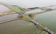 Iconische renovatie heftorens Afsluitdijk