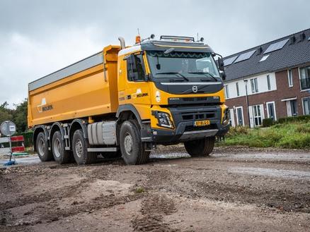 Mourik Infra gaat voor kracht en rijcomfort van Volvo-trucks