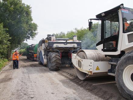 Groot onderhoud N410 in Bunnik