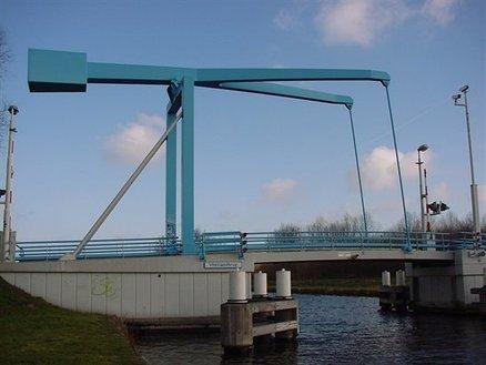 Groot onderhoud Vlietlandbrug Voorschoten