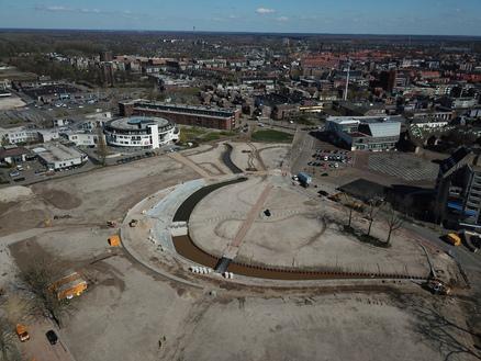 Fabrieksterrein wordt stadspark in Helmond