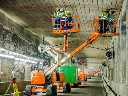 Kathodische bescherming Leopold II-tunnel