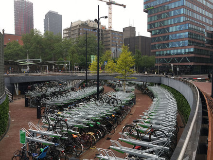Blaak Bicycle Parking Facility