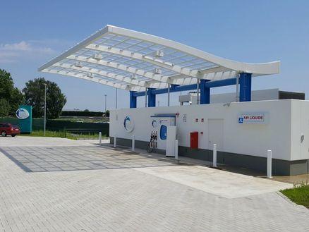 Bouw eerste openbare waterstofstation België
