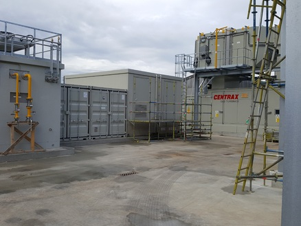 Promat warmtekrachtcentrale