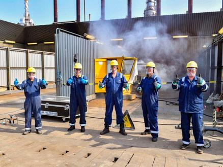 Shell Moerdijk maintenance shutdown