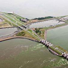 Groot onderhoud Afsluitdijk